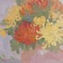 Chrysanthemums.30�40 cm, canvas, oil.