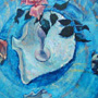 Summer remembrance.50�70 cm, canvas, oil.
