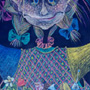 The little Witch.40�50cm, paper, pastel crayon